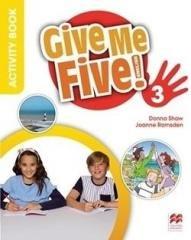 Give Me Five! 3 WB - okładka podręcznika