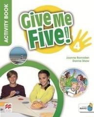 Give Me Five! 4 Activity Book - okładka podręcznika