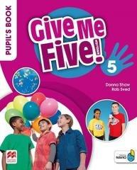 Give Me Five! 5 Pupil s Book Pack - okładka podręcznika
