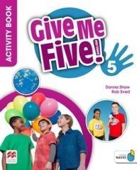 Give Me Five! 5 WB - okładka podręcznika