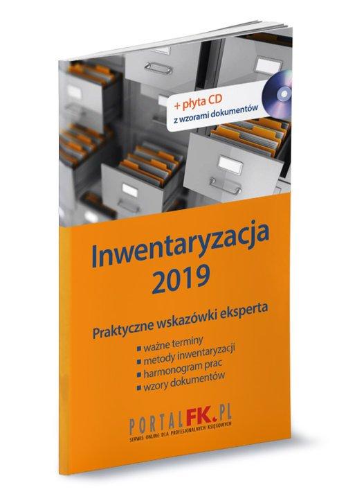 Inwentaryzacja 2019 (+ CD) - okładka książki