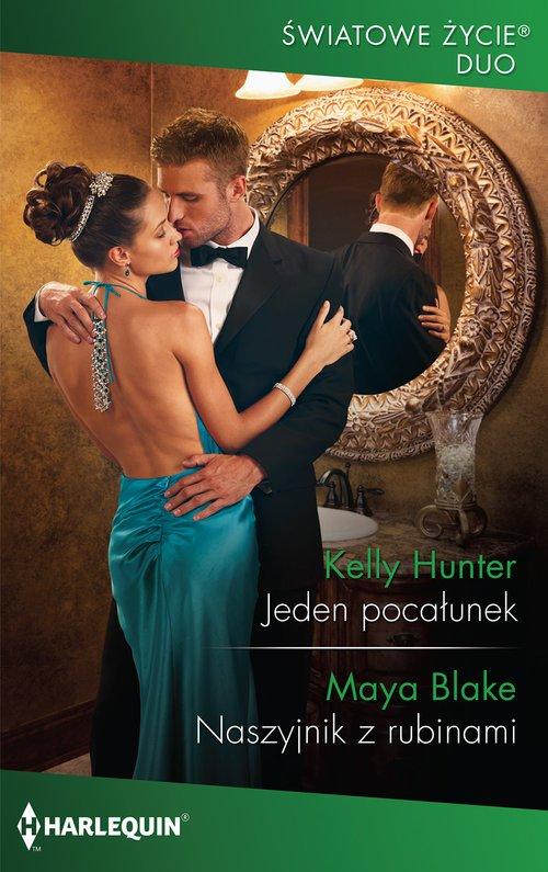 Jeden pocałunek / Naszyjnik z rubinami. - okładka książki