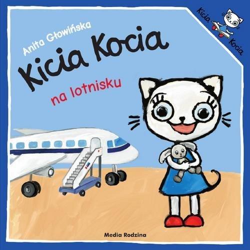 Kicia Kocia na lotnisku - okładka książki