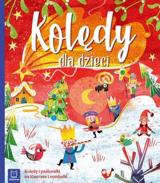 Kolędy dla dzieci - okładka książki