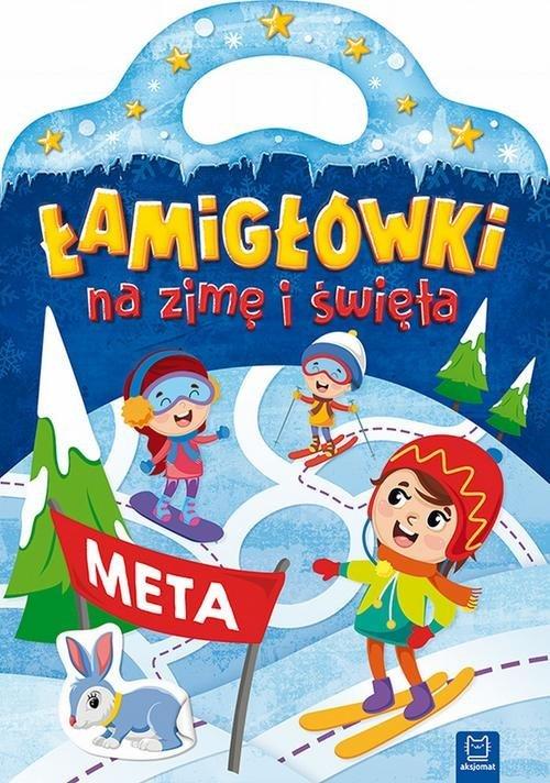 Łamigłówki na zimę i święta - okładka książki