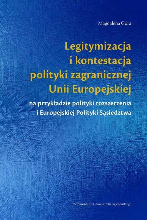 Legitymizacja i kontestacja polityki - okładka książki