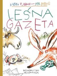 Leśna gazeta - okładka książki