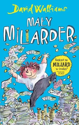 Mały miliarder - okładka książki