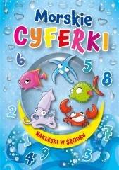 Morskie cyferki - okładka książki