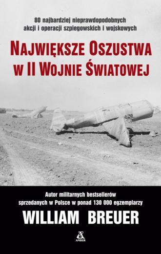 Największe oszustwa w II wojnie - okładka książki