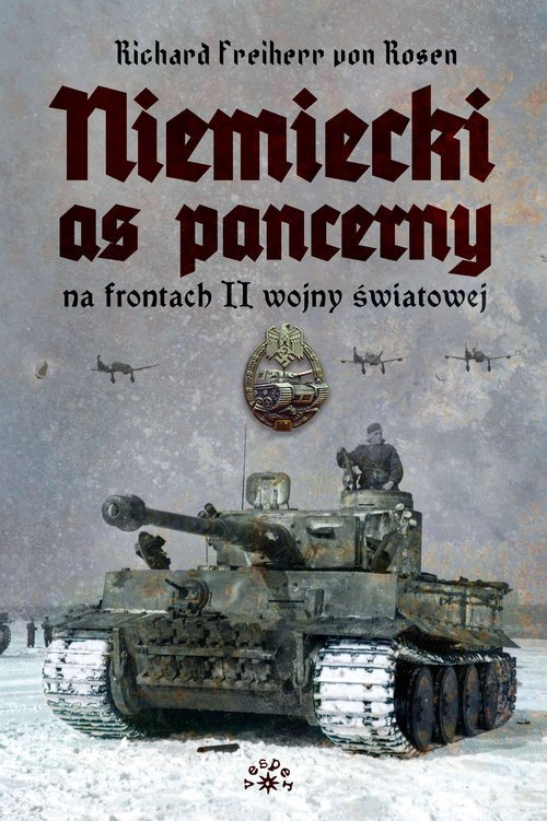 Niemiecki as pancerny na frontach - okładka książki