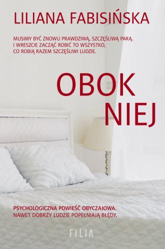 Obok niej - okładka książki