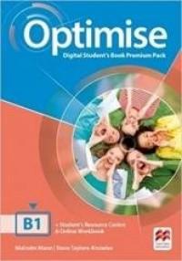 Optimise B1 WB with key - okładka podręcznika