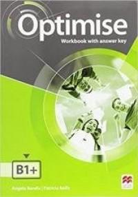 Optimise B1+ WB with key - okładka podręcznika