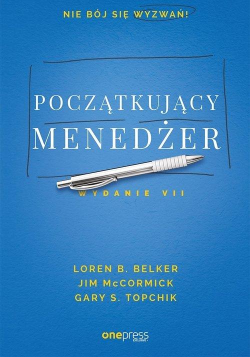 Początkujący menedżer - okładka książki