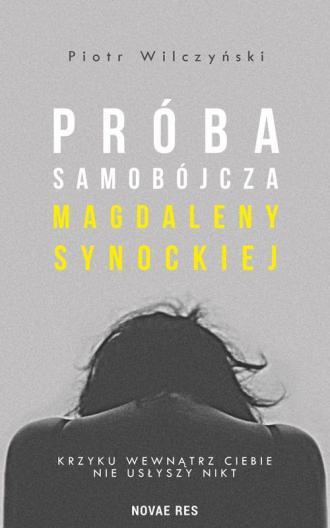 Próba samobójcza Magdaleny Synockiej - okładka książki