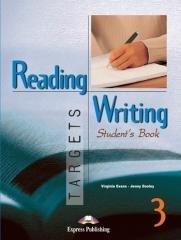 Reading and Writing Targets 3 SB - okładka podręcznika