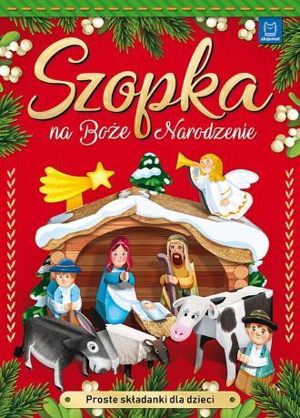 Szopka na Boże Narodzenie Proste - okładka książki