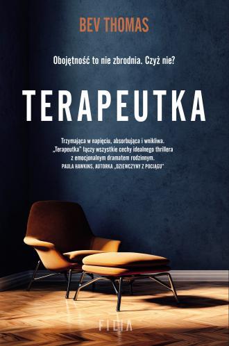 Terapeutka - okładka książki