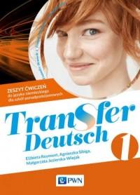 Transfer Deutsch 1. Język niemiecki. - okładka podręcznika