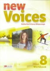 Voices New 8 WB - okładka podręcznika