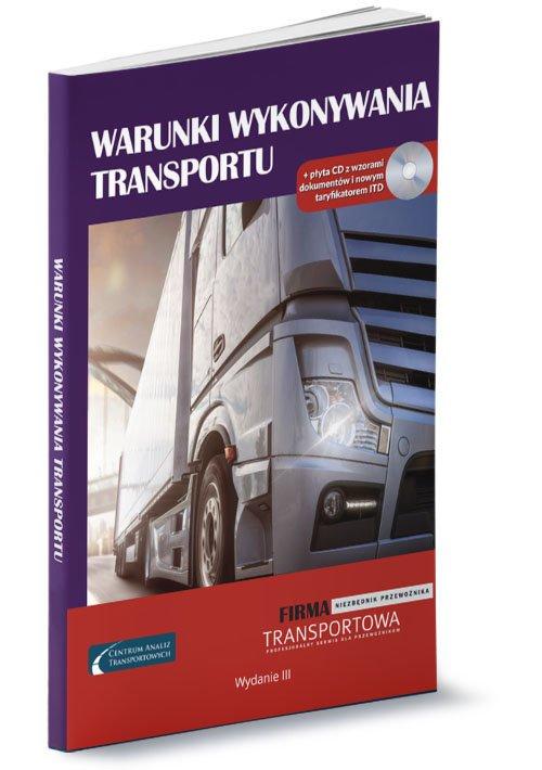 Warunki wykonywania transportu - okładka książki