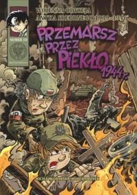 Wojenna odyseja Antka Srebrnego - Michał Konarski - okładka książki