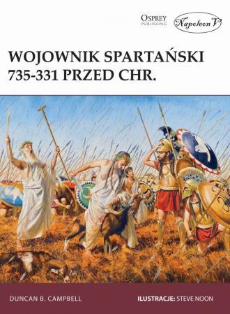 Wojownik spartański 735-331 przed - okładka książki