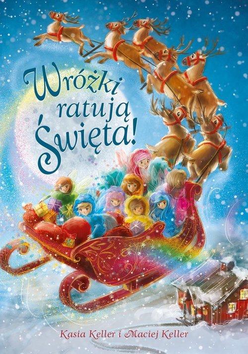 Wróżki ratują Święta! - okładka książki