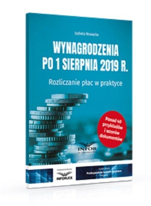 Wynagrodzenia 2019 po 1 sierpnia - okładka książki