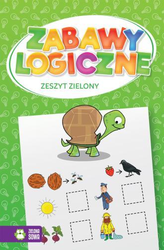Zabawy logiczne. Zeszyt zielony - okładka książki