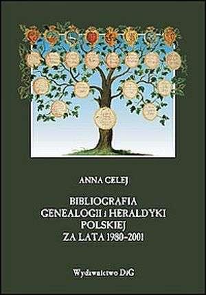 Bibliografia genealogii i heraldyki - okładka książki