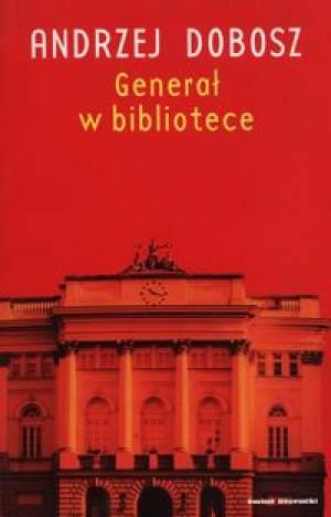 Generał w bibliotece - okładka książki