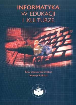 Informatyka w edukacji i kulturze - okładka książki