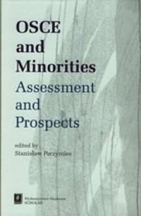 Osce and minorities. Assessment - okładka książki