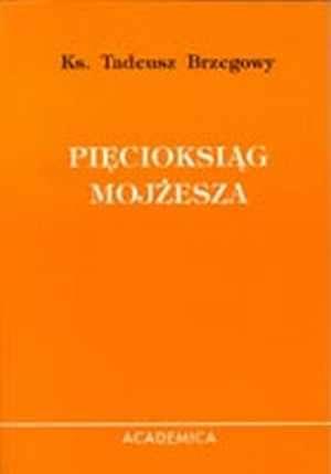 Pięcioksiąg Mojżesza - okładka książki