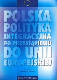 Polska polityka integracyjna po - okładka książki