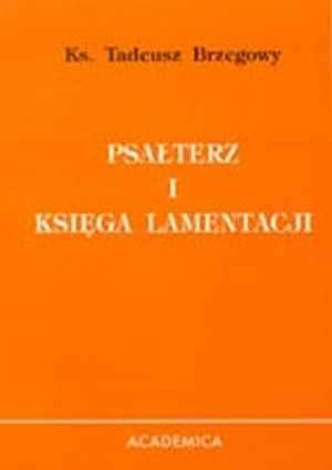Psałterz i Księga lamentacji - okładka książki