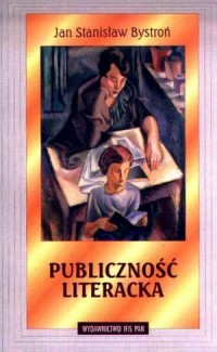 Publiczność literacka - okładka książki