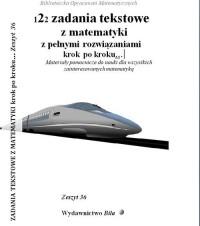 122 zadania tekstowe z matematyki - okładka książki