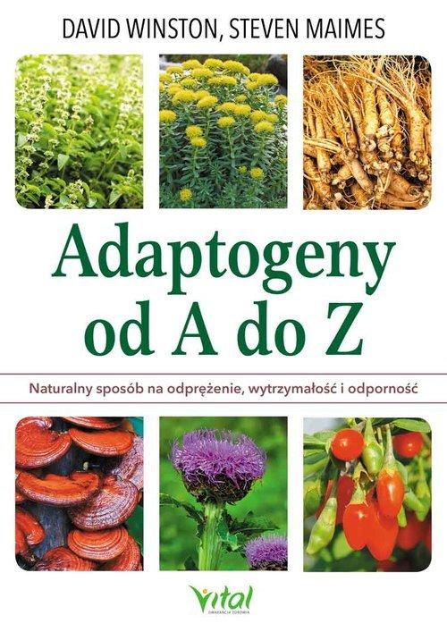 Adaptogeny od A do Z - okładka książki