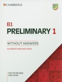 B1 Preliminary 1 for the Revised - okładka podręcznika