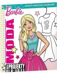 Barbie. Moda. Moje projekty - okładka książki