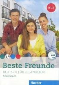 Beste Freunde B1.2 AB + CD (wersja - okładka podręcznika