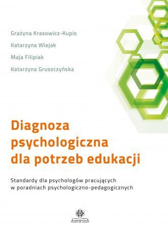 Diagnoza psychologiczna dla potrzeb - okładka książki