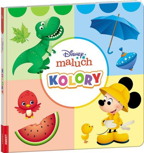 Disney Maluch. Kolory - okładka książki