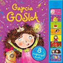 Gapcia Gosia. 8 magicznych dźwięków - okładka książki