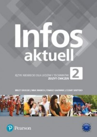 Infos aktuell 2. Liceum i technikum. - okładka podręcznika