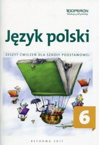 Język polski. Klasa 6. Szkoła podstawowa. - okładka podręcznika