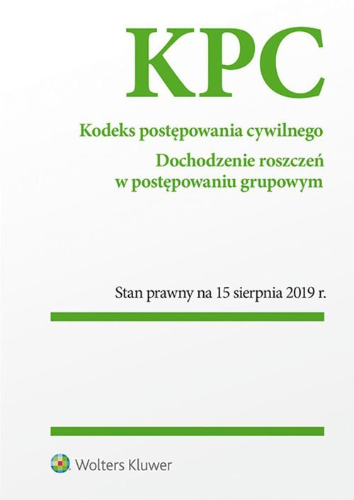 Kodeks postępowania cywilnego - okładka książki